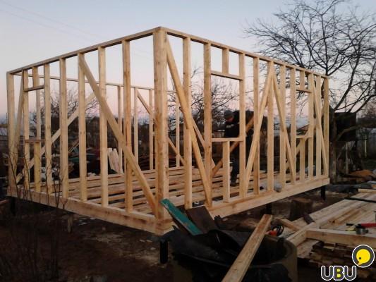 Построить каркасный дом своими руками 6 на 6