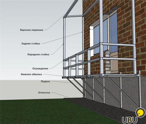 Балкон своими руками строить 109
