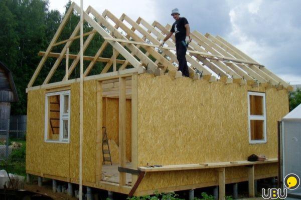 Стройка своими руками домов