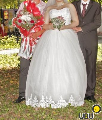 Свадебное платье 48 50