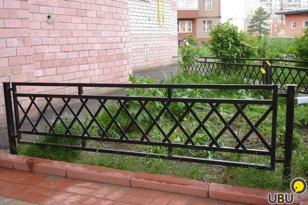 Оградка палисадника