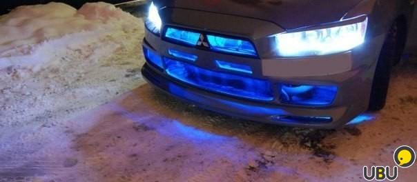 Светодиодная подсветка автомобиля своими руками фото