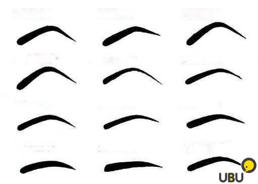 Как сделать трафарет для бровей самостоятельно