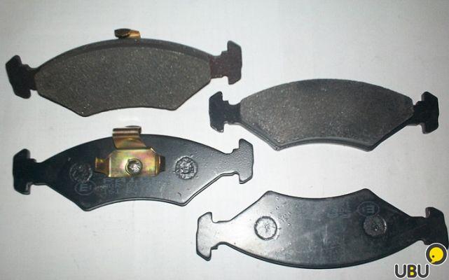 Замена передних тормозных колодок на форд эскорт
