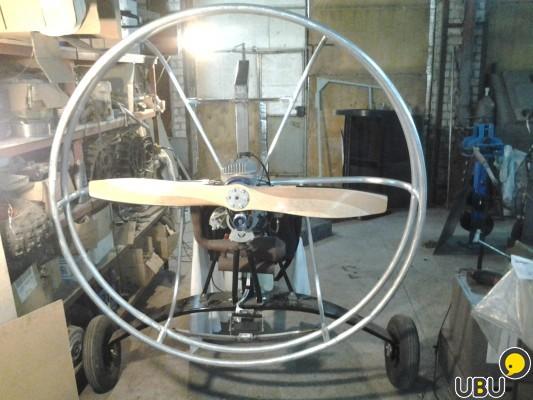 Силовая установка для аэролодки своими руками