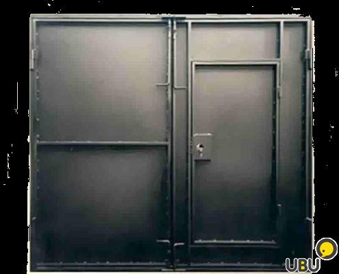Как сделать железная дверь для гаража 783