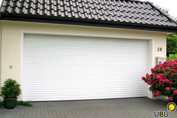 Garage door curtain