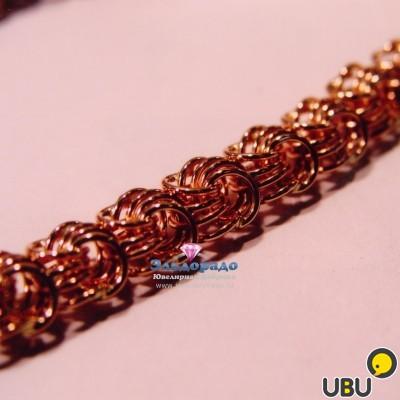 Плетение из золота фантазия