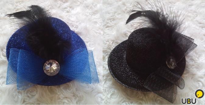 Заколка для волос шляпка