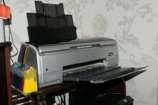 Обьявление Продаю 8 цветный струйный принтер Epson Stylus Poto R 2400 б\у