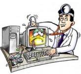 Обьявление Ремонт компьютеров и ноутбуков