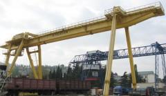Обьявление Сдается открытая промышленная площадка, с мостовым (козловым) краном.