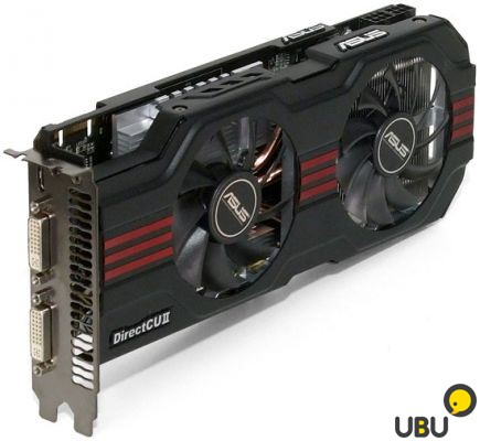 Asus GeForce GTX 560 Ti 1024MB маленькая