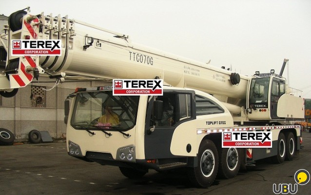 Автокран TEREX  TOPLIFT TTC070G фото 2