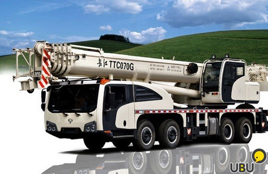 Автокран TEREX  TOPLIFT TTC070G