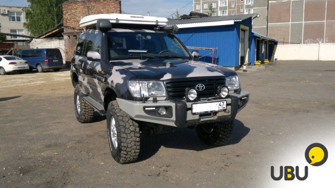 Автомобиль Toyota Land Cruiser 105 фото 1