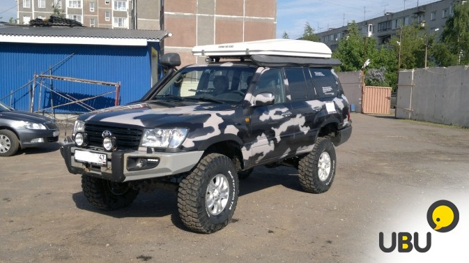 Автомобиль Toyota Land Cruiser 105 фото 3