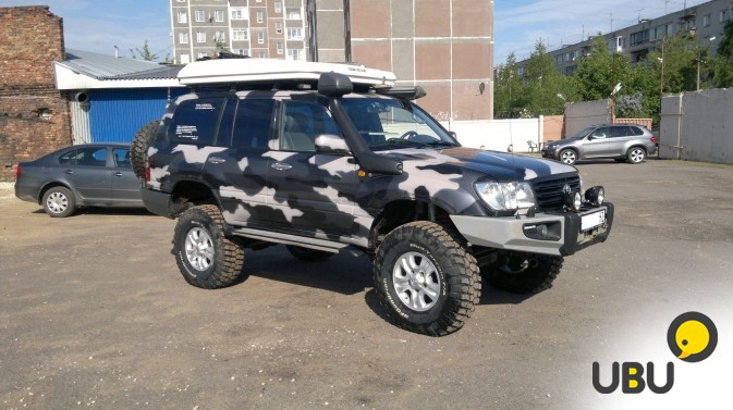Автомобиль Toyota Land Cruiser 105 фото 10