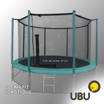 Батут в Сочи Clear Fit Elastique 16ft