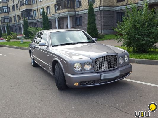 Bentley Arnage II, 2005, бензин, автомат, 6.8 л. 500 л.с маленькая