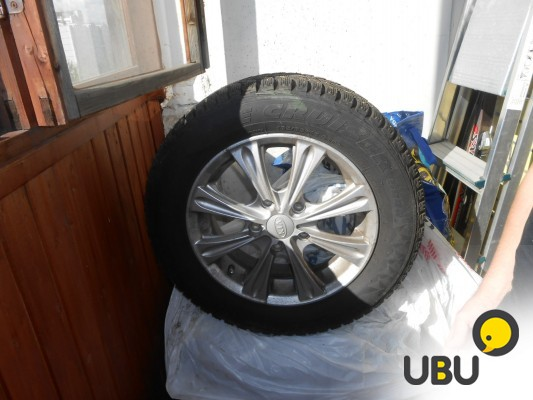 Продам колеса Bridgestone ICE CRUISER 5000 185/65 R15 фото 2