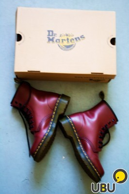 Dr. Martens 1460 Cherry Red Smooth фото 1