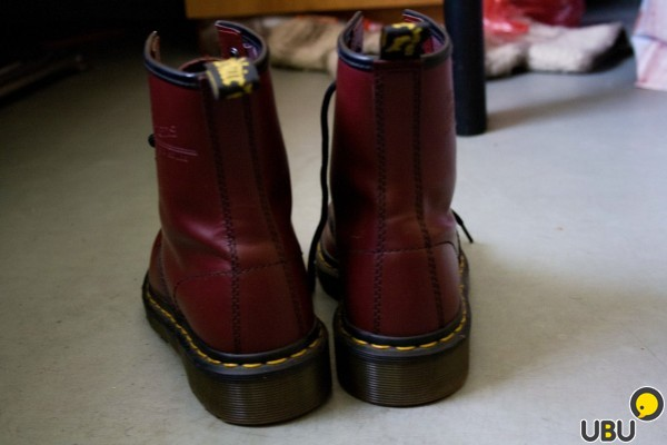 Dr. Martens 1460 Cherry Red Smooth фото 2
