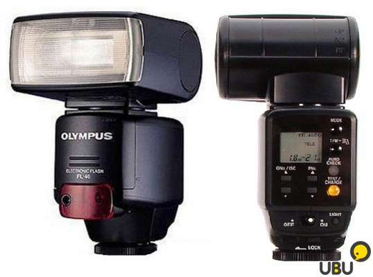 Фотовспышка OLYMPUS Electronic Flash FL-40 внешняя фото 4