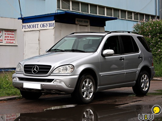 Mercedes-Benz ML 270 2003 фото 9