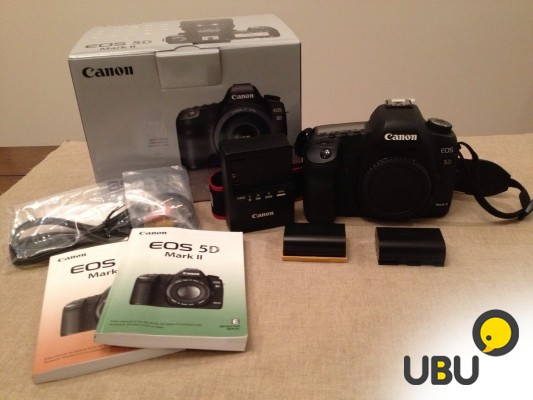 NEW Canon EOS 5D Mark II цифровая камера MKII BODY