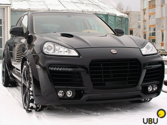 Обвес Techart Magnum Porsh Cayenne 955,957 фото 6