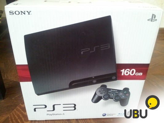 Продам Playstation 3 Slim (3008a) 160 Gb + 8игр фото 1