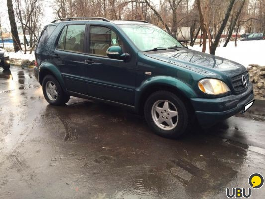 Продаю Mercedes-Benz ML 320 2000г.в фото 2