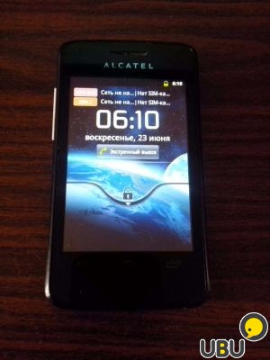 Смартфон Alcatel One Touch Pixi 4007D маленькая