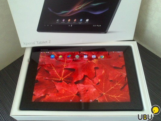 Sony Xperia Tablet Z 16Gb маленькая