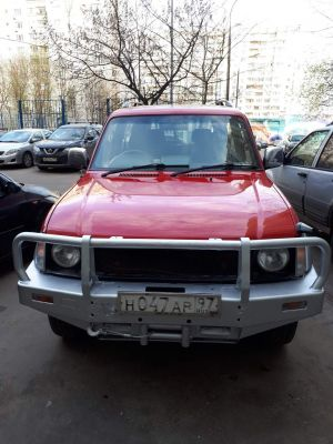 Toyota Land Cruiser Prado, АТ, 1996 г. маленькая
