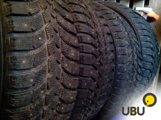 Зимняя резина Bridgestone Ice Cruiser 5000 275х70хR16  = 4шт